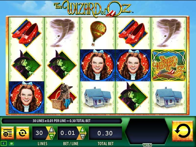 Wizard of Oz slots Play for Free by WMS